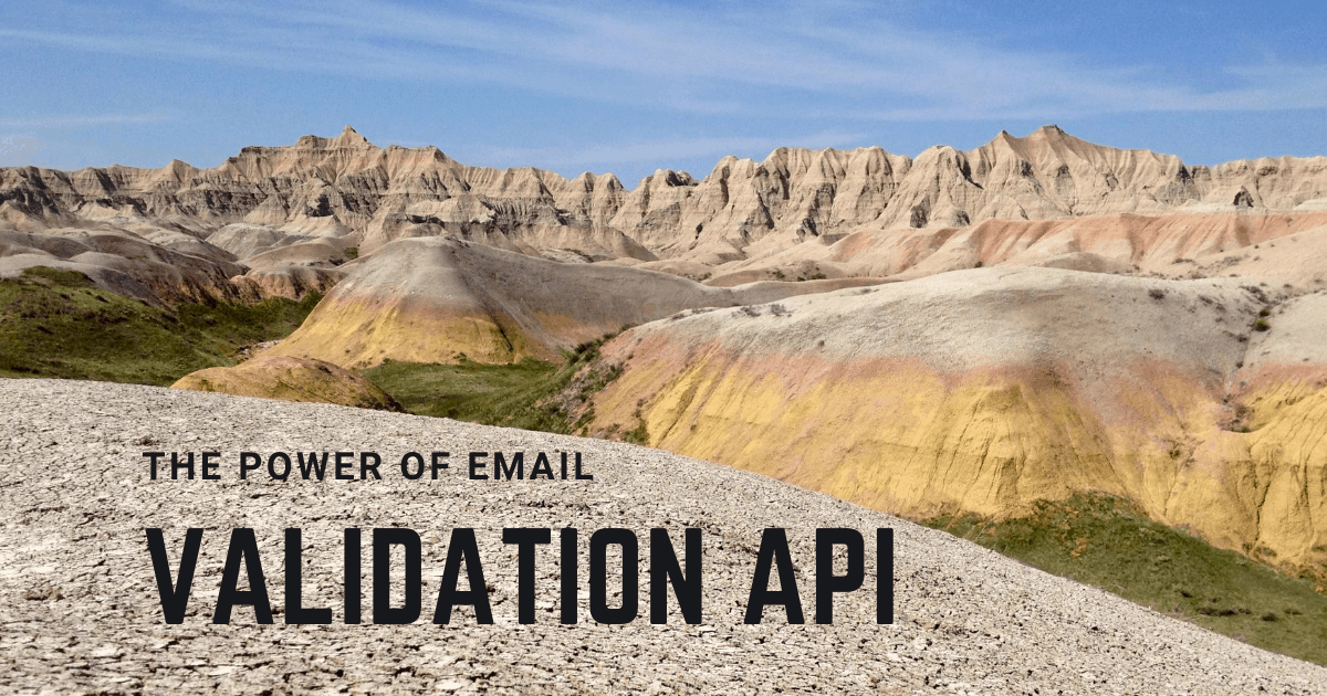 The power of Email Validation API